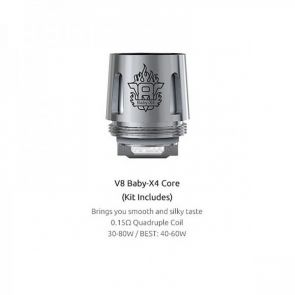 Pack Resistances TFV8 BABY - X4 (Lot de 5)