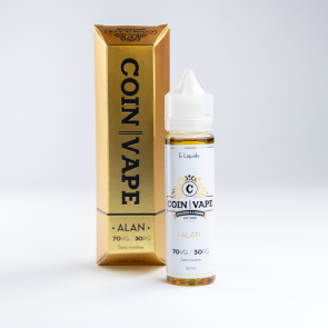 COIN VAPE - 50ml - Alan